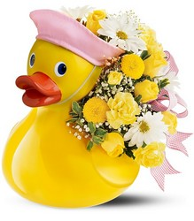 Just Ducky Bouquet - Girl Flower Power, Florist Davenport FL